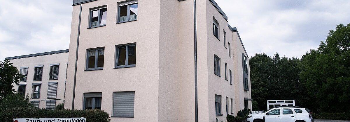 Außenansicht vom Standort in Buchwalde